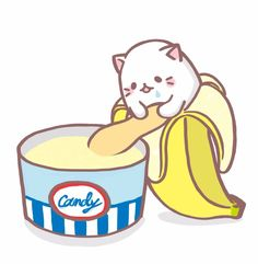 Bananya Bananacat on Twitter