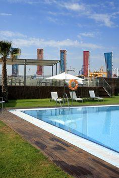 America's Cup Valencia - Beach Club #architecture