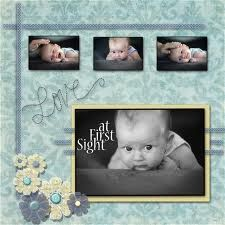 scrapbook layout ideas - Google Search