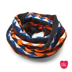 Simplement SYMPATHIQUE Snood / Cuello  Multi Black - Chic Sympathique