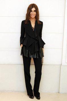 Carine Roitfeld at The Ultimate Fashion Cocktail, Paris Fashion Week