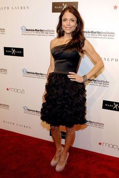 Bethenny Frankel Hoppy for her drive, spunk, humor and business savvy.