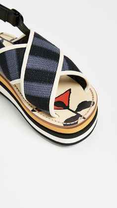 MARNI PLATFORM SANDALS. #marni #shoes #