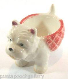 Westie Egg Cup-Adorable!