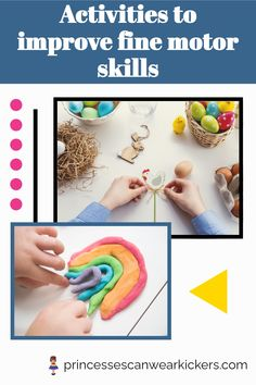 Struggles with fine motor skills can severely impact your child's daily life. If you have a child with dysgraphia, dyspraxia or weak fine motor skills, this article is a must-read! Here you will find the best ways to strengthen their fingers and improve coordination. Click here to find out more. #dysgraphia #dyspraxia #finemotorskills #finemotorskillsactivities Adhd Activities, Fine Motor Activities For Kids, Motor Skills Activities, Games For Toddlers, Everyday Activities, Gross Motor Skills, Hands On Activities, Educational Activities, Preschool Activities