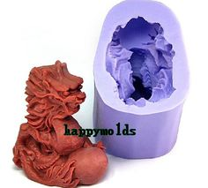 3D Dragon Soap Mold Flexible Silicone Mould For Handmade Soap Candle Candy Cake Fimo Resin Crafts R1021