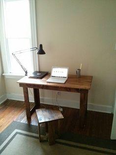 Ikea bed slat desk - Imgur