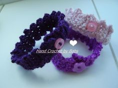 Looking for your next project? You're going to love Crochet Spring/ Summer Bracelets by designer CrocKnits. - via @Craftsy