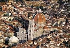 Florence cathedral dominating Florence skyline