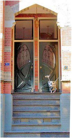 JUGENDSTIL Style, Zwolle,Netherlands door