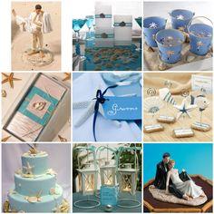 Beach Theme Wedding Centerpieces | Beach Weddings | My Dream Wedding Decorations