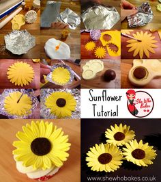 This week, I was asked by a friend to make emergency sunflowers for their wedding cake. These bright sunflowers are really easy to make and super effective on your bakes! You will More →