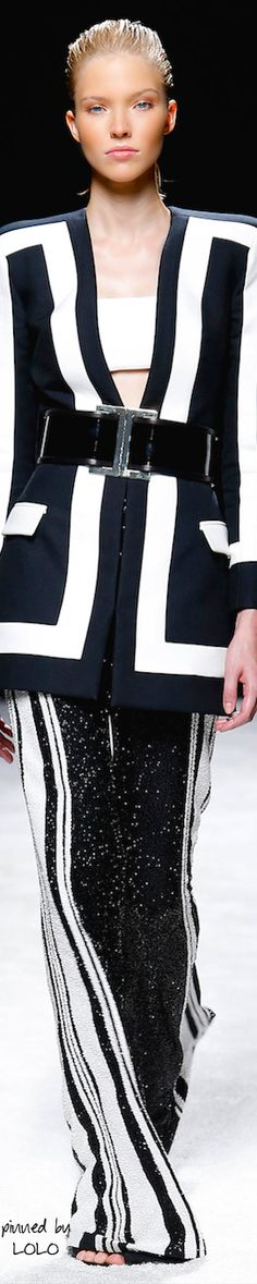 Balmain Spring 2015 | The House of Beccaria~