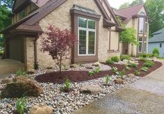 Low Maintenance Front Yard Landscaping Curb Appeal Mulches