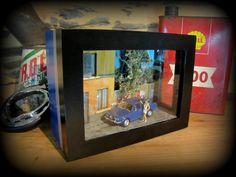vitrine miniature voiture alfa romeo alfetta échelle 1/43 : Accessoires de maison par deco-bolides