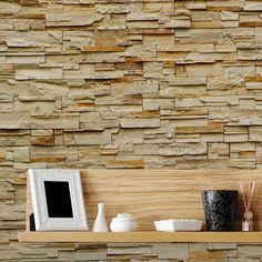 Papel de parede adesivo pedra - StickDecor | Decoração Criativa
