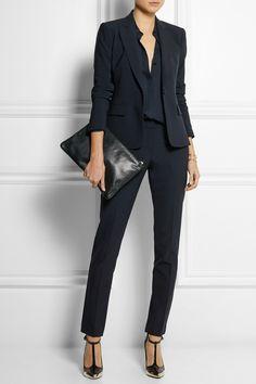 Theory - Stretch-crepe blazer