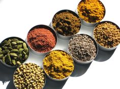 Indian Spice Kit - 8 essential exotic spices