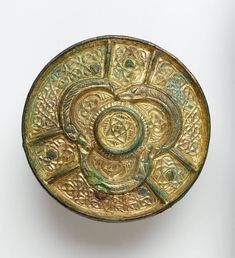 Celtic Disc Found Among Stored Viking Treasures - LONDON, ENGLAND—An eighth or ninth-century gilded Celtic disc has been discovered within a lump of organic material that has been sitting in a storeroom in the British Museum for more than 100 years.