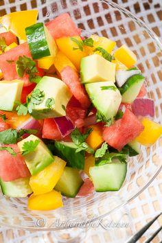 watermelon cucumber salad IMG_7964p
