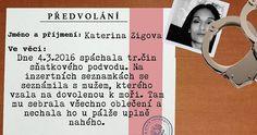 [Katerina Zigova] - Dostali jste předvolání a my víme za co!!