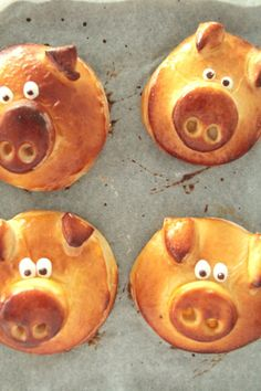 Die Glücklichmacherei: Silvester 〖Glücksschweinchen〗 Diy Silvester, Silvester Party, Three Little Pigs, Time To Celebrate, Party Snacks, Finger Foods, Sweet Tooth, Good Food, Fun Food