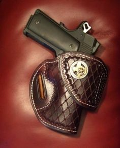Shop wide range of the finest leather holsters online. Tucker Gun Leather offers concealment or concealed carry holster & custom holsters at the best prices. 1911 Leather Holster, 1911 Holster, Custom Leather Holsters, Kydex Holster, Leather Belts, Leather Tooling, Revolver Pistol, Concealed Carry Holsters, Leather Projects
