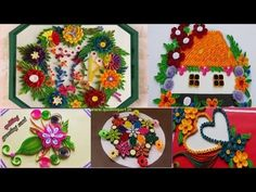 Paper Quilling : My Latest Projects Quilling Craft, Paper Quilling, Paper Hearts, Funny Valentine, Mini Albums, Diy Projects, Joy, Holiday Decor, Crafts
