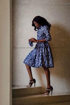 African Prints in Fashion: Prints of the Week: Doreen Mashika