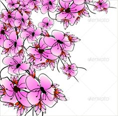 Flower Sacura #GraphicRiver vector eps10 Created: 11April13 GraphicsFilesIncluded: JPGImage #VectorEPS Layered: No MinimumAdobeCSVersion: CS Tags: abstract #background #bloom #blossom #bow #branch #close #close-up #closeup #congratulation #design #flora #floral #flower #grunge #hand #isolated #macro #natural #nature #pink #plant #retro #sacura #spring #summer #tree #vector #vintage #wish