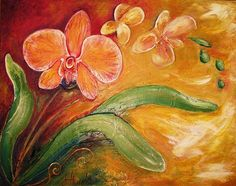 Orchid Impressions by Jill Alexander Vibrant Colors, Colours, Facebook Likes, Her Style, Fine Art America, Orchids, Art Deco, Wall Art, Studio