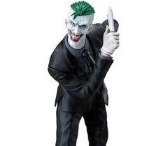 DC Comics ARTFX+ PVC Statue 1/10 Joker Statue Base, Comic Villains, Arch Enemy, Dc Comics, Joker, Star, Red, The Joker, Jokers
