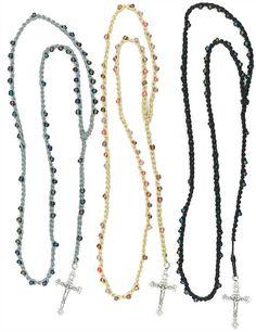 rosary bracelet prayer instructions