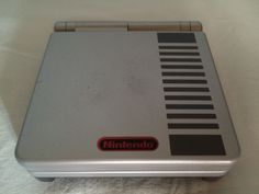 Game Boy Advance SP Classic NES Edition console.