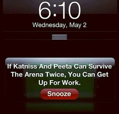 Hunger Games Motivation