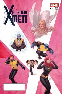All New X-Men #18 variant covers by Julian Totino Tedesco