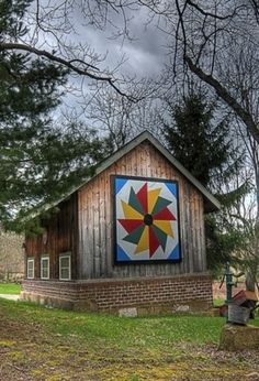 Small Appalachian Quilt Barn