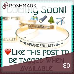 ❣✈️Wanderlust Cuff Bracelet ❣LOWEST/FINAL MARKDOWN PRICE❣Ignite your wanderlust with dreams of travel & adventures ahead with this lovely wanderlust cuff bracelet! Crafted alloy metal made with love in the USA. NWT Retail-Price firm unless bundled! Twilight Gypsy Collective Jewelry Bracelets
