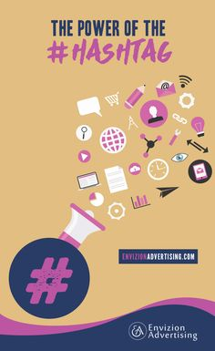 Hashtag Marketing Strategy For Your Business - http://www.envizionadvertising.com/social-media/hashtag-marketing-strategy-for-your-business/