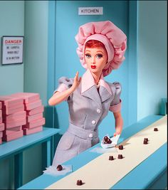I Love Lucy Barbie @lizette swords