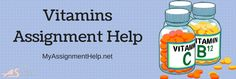 Vitamins Assignment Help