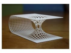 A 3d print of a 2d representation of a wormhole! #3dprint #3dprinting #future #technology #tech #innovate