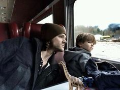 Jared and Thomas ❤️ that kid is getting to look SO much like Jared!!