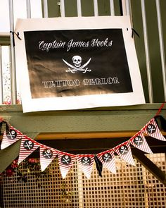 Great idea for little boys at a Pirate Party