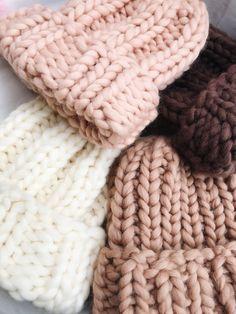Excited to share this item from my shop: Women's wool knit hat, Super chunky hat. Hand Knitting Yarn, Vogue Knitting, Thread Crochet, Crochet Yarn, Yarn Shop, Chunky Yarn, Knit Beanie, Scarf Hat, Helsinki