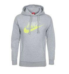 335e07aef52957 New Nike Mens Club Swoosh Gray Futura Pullover Sweatshirt Hoodie Jacket  Size XL