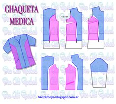 Scrubs Outfit, Scrubs Uniform, School Pinafore, Sewing Hacks, Sewing Projects, Scrubs Pattern, Tailored Fashion, Medical Uniforms, Medical Scrubs