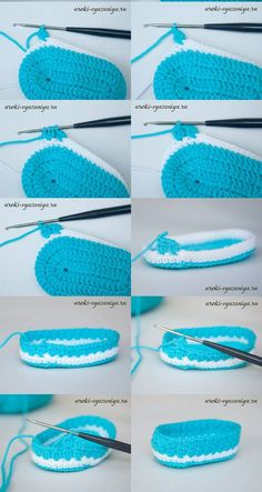 How to crochet baby booties, full step by step and very easy even for beginners. See the info graphic step by step to make baby booties.  at the end of the graph has a video tutorial for you to understand better with all the information           How to crochet baby booties, step by step on video. http://youtu.be/Sn_Ve6EzbI8