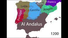 Animación en mapas de la historia de España desde el año 300 antes de Cristo hasta la actualidad. | Música: W. A. Mozart: Divertimento K131 by Kevin McLeod. ...