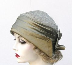 Unique 1920s Hats Vintage Gatsby Style Cloche Special by BuyGail, $145.00